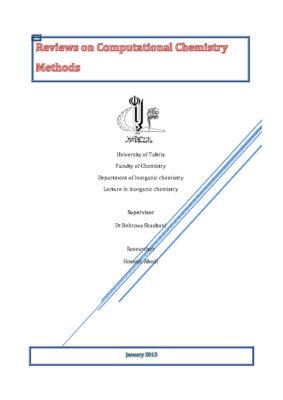 Computational Chemistry شیمی محاسباتی سمینار کامل (12)